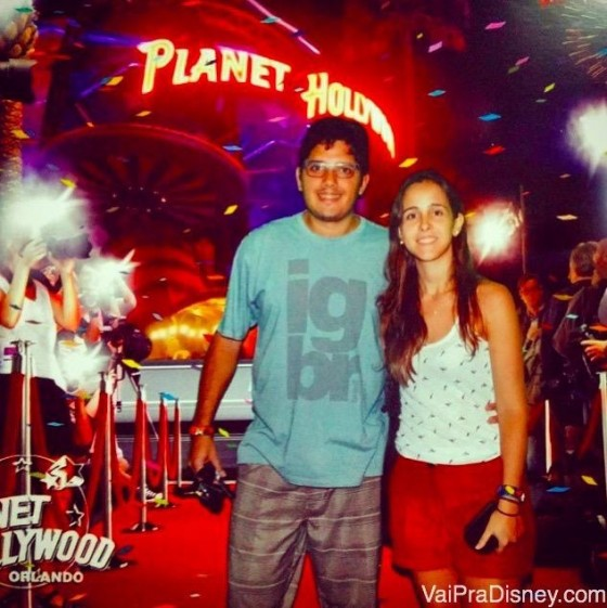 Entrada do Planet Hollywood