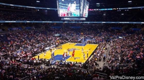NBA, imperdível para quem vai na época do campeonato