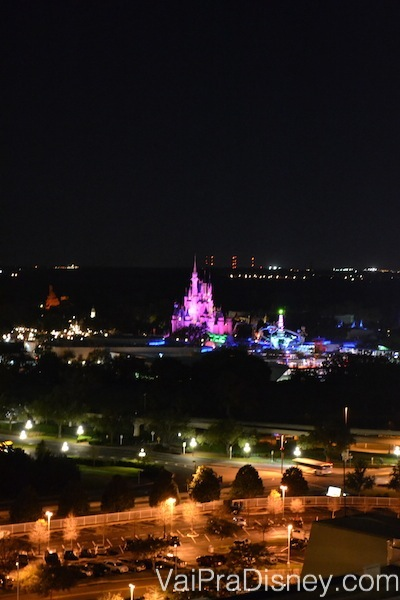 Magic Kingdom visto do California Grill