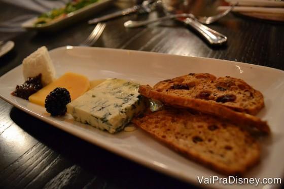 Minha tábua de queijos. Amo tábua de queijos!