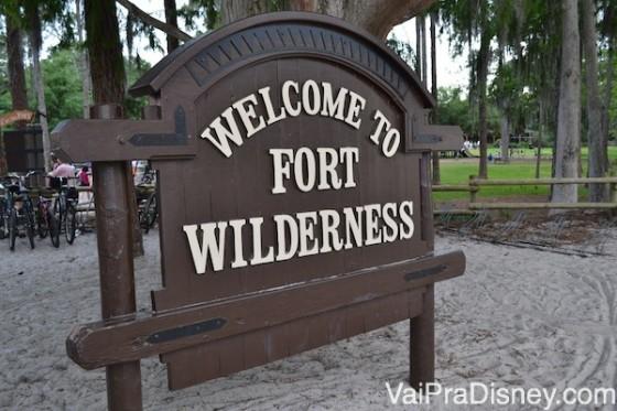 A área de camping do Fort Wilderness é a opção mais barata para se hospedar na Disney.