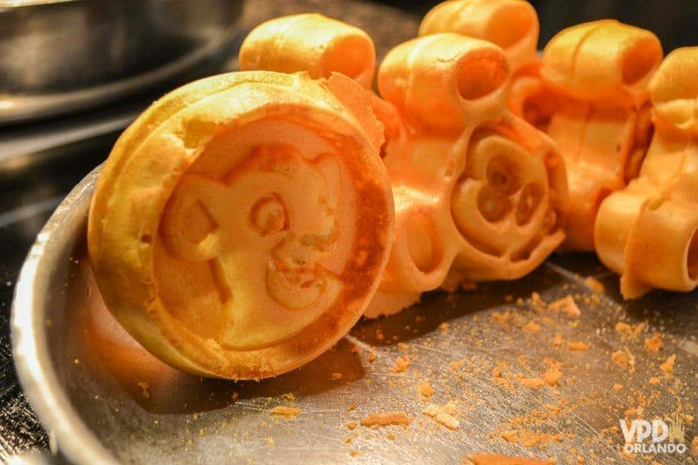 Waffles do Simba no Boma!