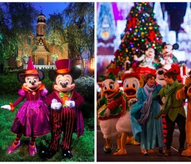 Eventos especiais como a festa de Natal, Halloween, Star Wars Weekend, extra magical hours afetam muito a lotação dos parques. Isso sem contar os feriados!