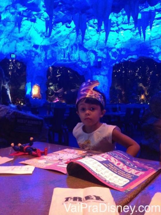 No T-Rex, que fica no Downtown Disney