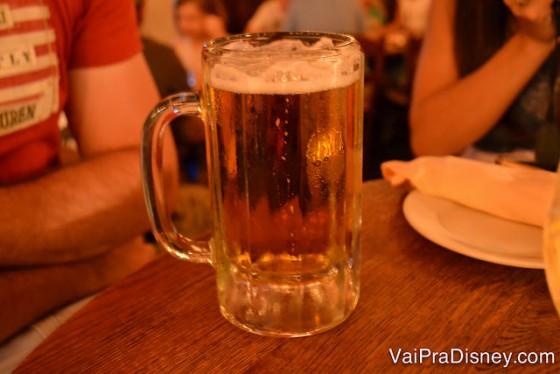 Para quem não quiser vinho, as cervejas da casa são bem legais também. Além de todas as opções não alcóolicas já tradicionais de todos os restaurantes.