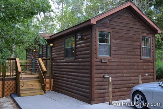 Essa era a nossa casinha no Disney's Fort Wilderness. Ficava no loop 2300