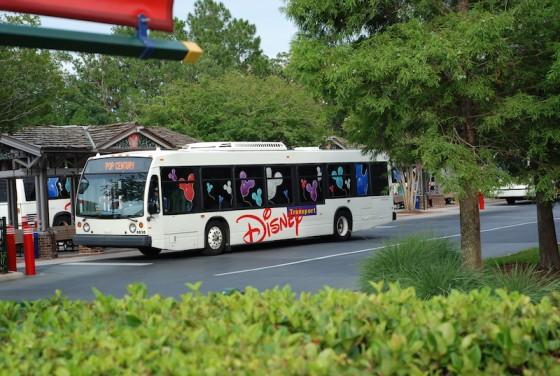 Transporte gratuito dentro da Disney para quem não alugou carro