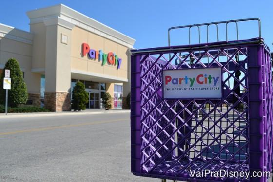 Party City é o local para se visitar quando você vai planejar uma festa ou quer uma fantasia.
