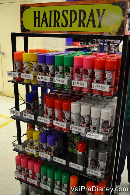 Sprays de cabelo colorido para ir na festa e depois tirar no banho