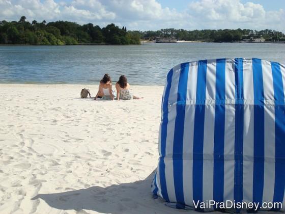 O passeio na praia pode para casais ou com os amigos. É sempre muito gostoso!
