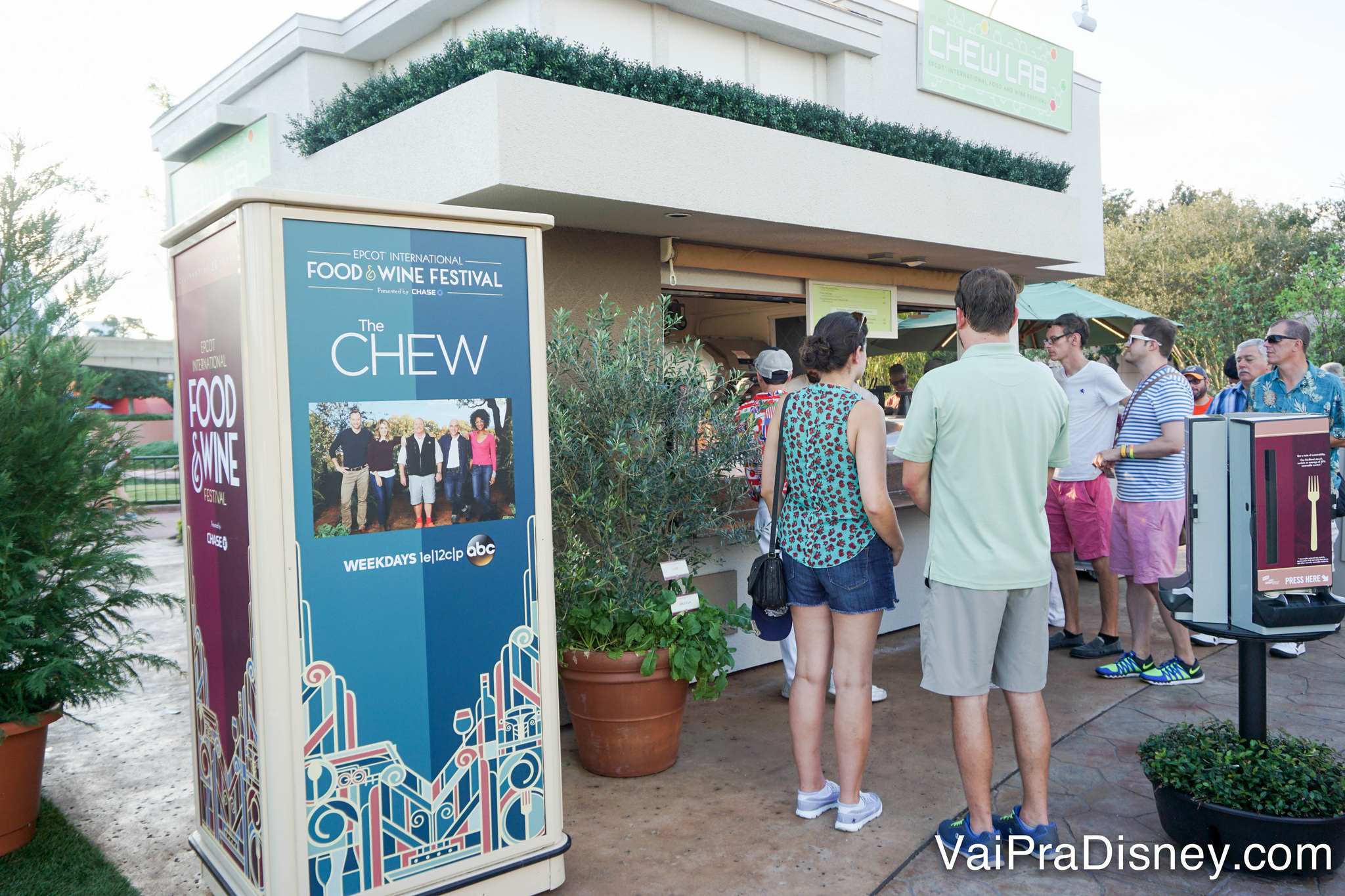 Espaço do The Chew no festival de 2015.