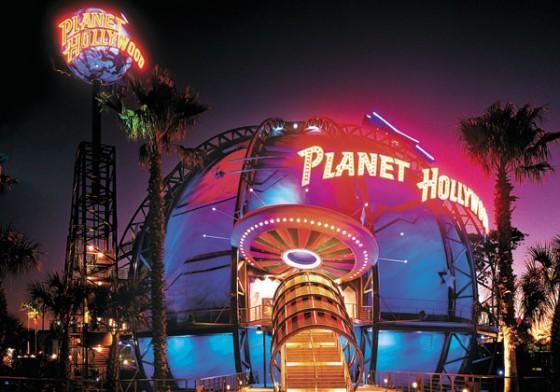 A foto é de divulgação de como era o Planet Hollywood antes da reforma.