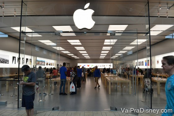 Apple, uma das lojas mais procuradas.