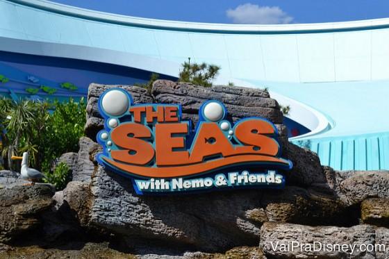 Se tiver tempo sobrando, a atração do Nemo é bem bonitinha.
