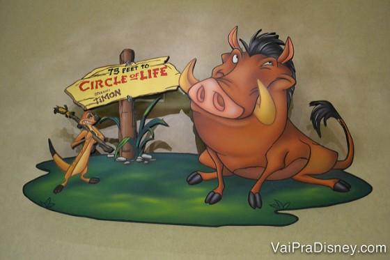 Uma placa com o Timão e com o Pumba parece que te leva para algo super legal, né? Não é bem assim...