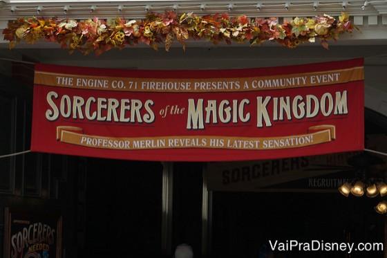 Sorcerers of the Magic Kingdom, para quem tiver um tempinho sobrando.
