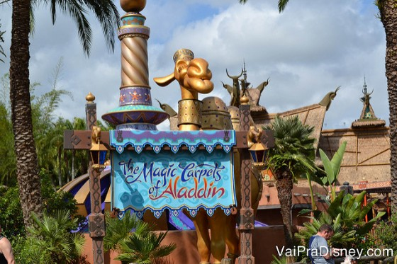 Atração do Aladdin.