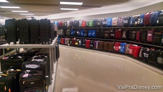 A área de malas da Marshalls costuma ser muito boa!