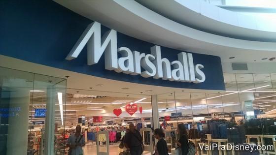 A Marshalls é uma das lojas mais famosas de Orlando pelos baixos preços!