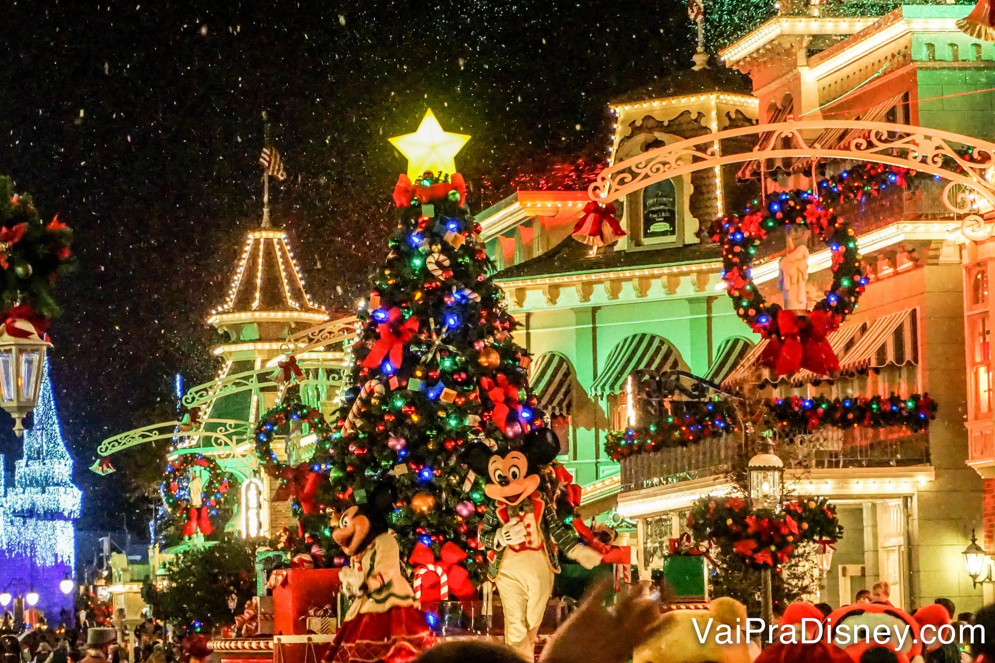 Eventos especiais como a festa de Natal, Halloween, Extra Magic Hour afetam a sua programação, mesmo que você não vá participar deles!