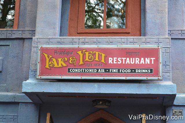Yak & Yeti é diferente e delicioso!