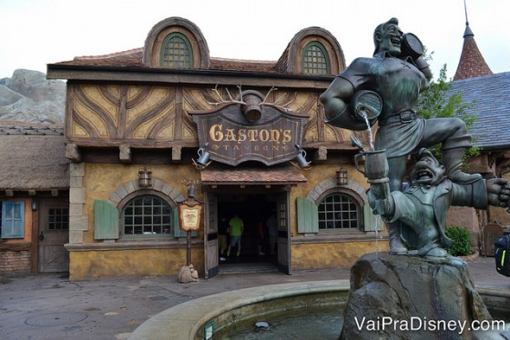 Gaston's Tavern, na nova Fantasyland.