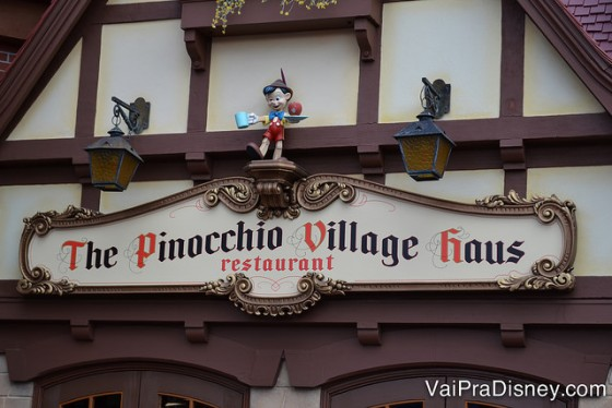 Adoro o Pinochio Village Haus. Simples mas bem gostoso.