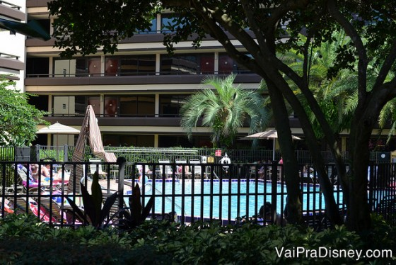Piscina no Rosen Inn.