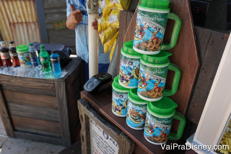 Caneca refil da Disney
