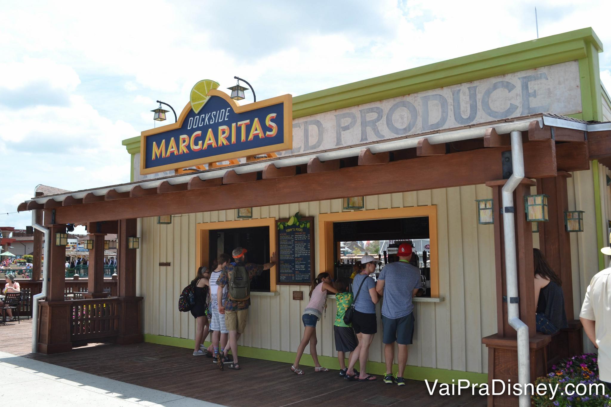 Dockside Margaritas, um ótimo lugar para uma pausa e um drinque em boa companhia!