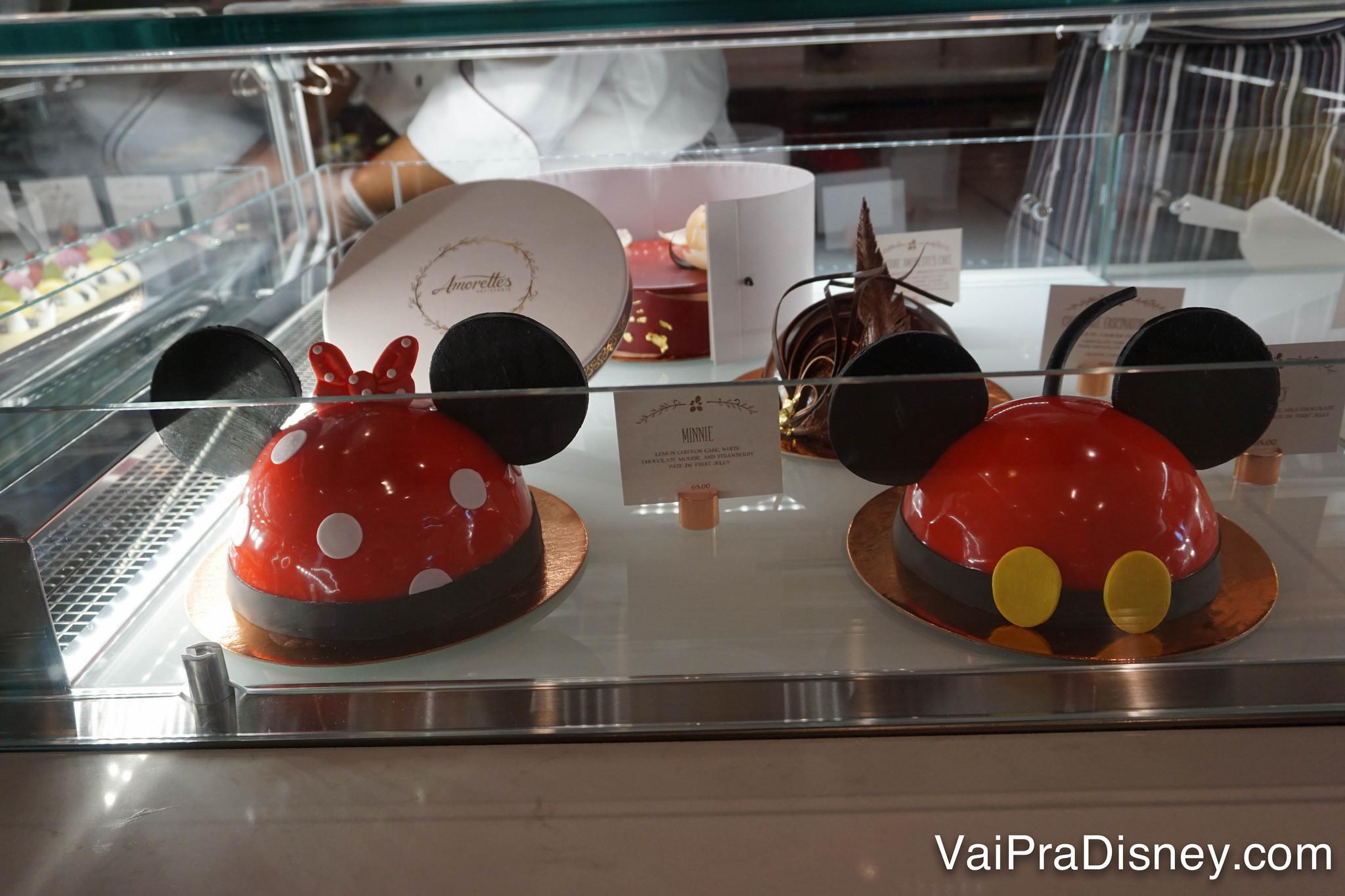 E esses bolos perfeitos dos personagens?