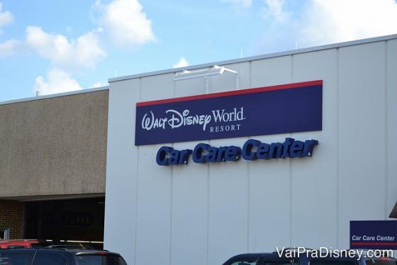 Disney Car Care Center, local onde você pode alugar um carro dentro da Disney!
