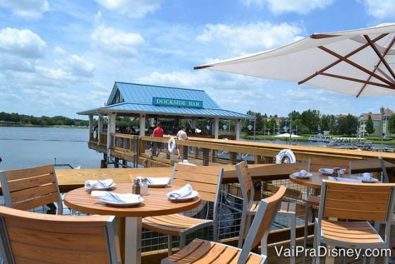 Um pedacinho do Boathouse, restaurante que já ganhou um post aqui no VPD.