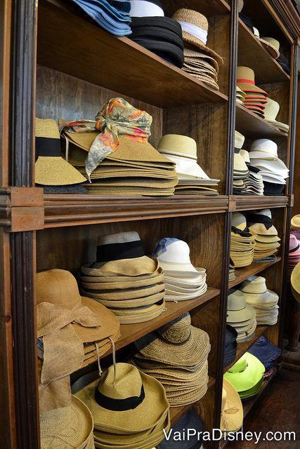 Na Chapel Hats tem chapéu de tudo que é jeito!