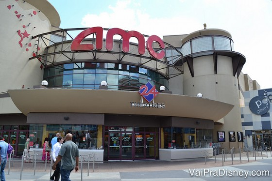 O cinema do Disney Springs.