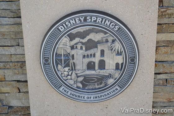 O novo nome já está estampado em vários pontos do Disney Springs.
