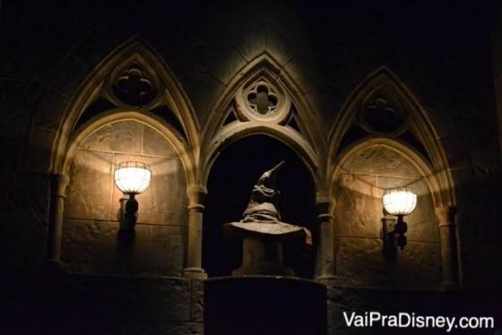 Se fizer o tour pelo castelo, você pode até ir com sua máquina na mão e tirar algumas fotos. O ambiente é escuro, mas até que algumas fotos saem boas!