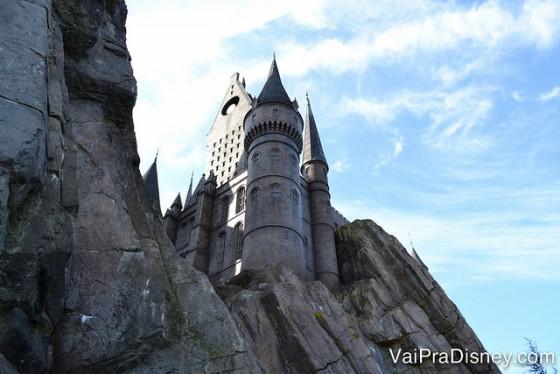 Castelo de Hogwarts: outro que muitas pessoas não querem deixar de visitar.