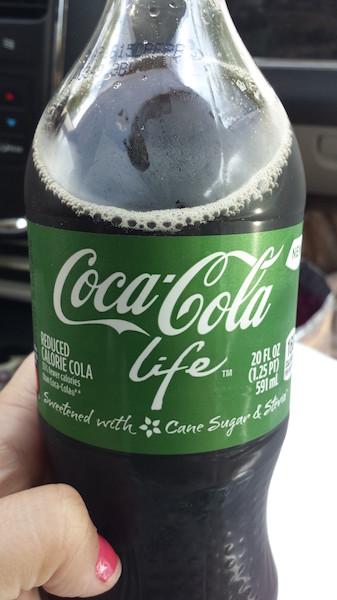 Coca Life, com Stevia, que é melhor que aspartame