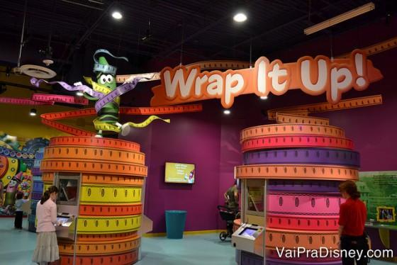 No Wrap it Up! escolha o totem com a cor do giz de sua preferência e crie o seu rótulo personalizado.