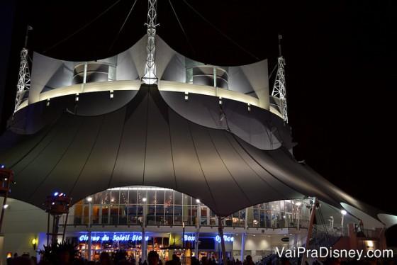 Cirque du Soleil, no Disney's Springs.