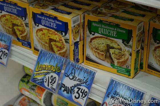 Todos os produtos do Trader Joe's são da marca do próprio supermercado.