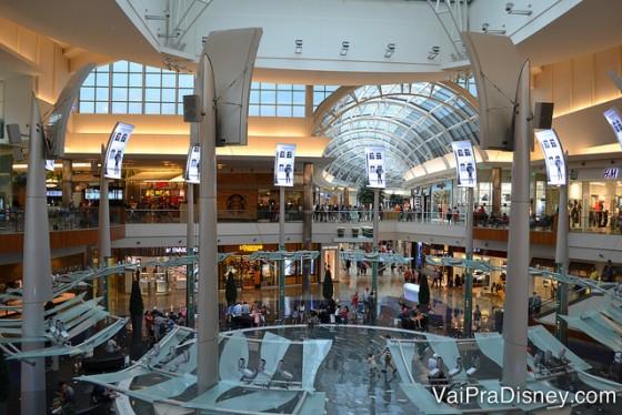 Um pouquinho do Mall at Millenia por dentro.