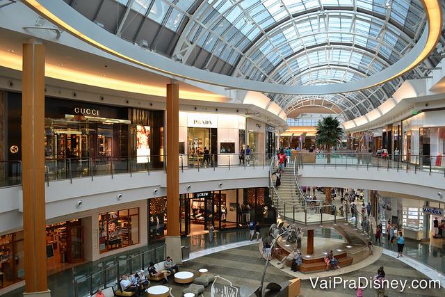 Mall at Millenia, um dos nossos shoppings favoritos em Orlando