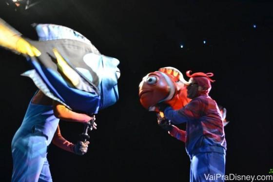 Nemo no Animal Kingdom - É musical de verdade mano!