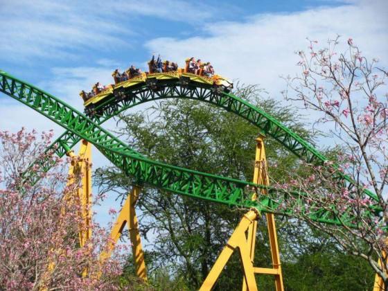 Cheetah Hunt, uma das montanhas russas mais novas do Busch Gardens em Tampa