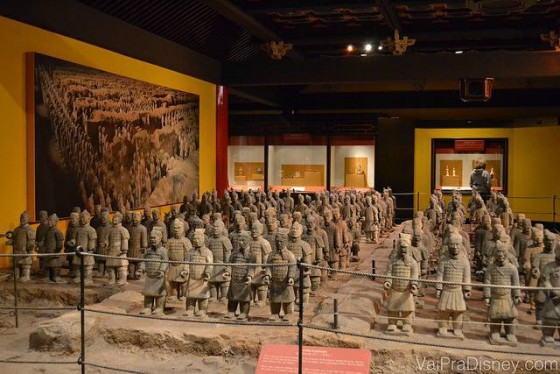 Exército de terracota na China