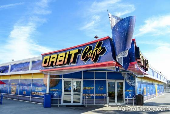 Orbit Cafe no Kennedy Space Center