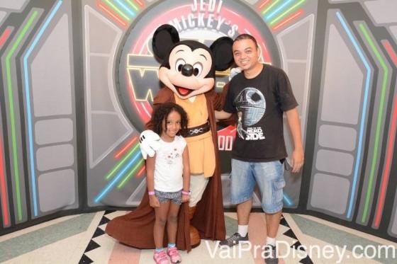 Mickey Star Wars