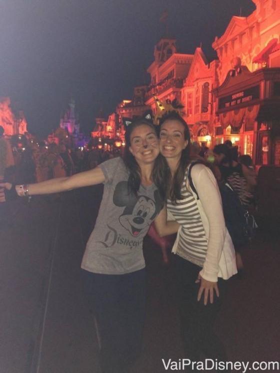 Na festa de Halloween do Magic Kingdom